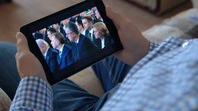Sirva el enrollamiento de la página de presidente Putin Official el Kremlin