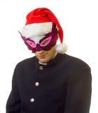 Sirva en la máscara 2 Fotos de archivo libres de regalías