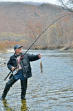Sirva en la pesca 7 Fotos de archivo