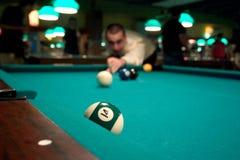 Sirva la piscina del shooting Fotografía de archivo libre de regalías
