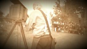 Sirva tomar la foto del tintype de los soldados de la guerra civil (la versión de la cantidad del archivo) almacen de metraje de vídeo