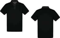Sirve la camiseta del polo Imagen de archivo