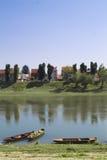 Sisak flod Arkivbilder