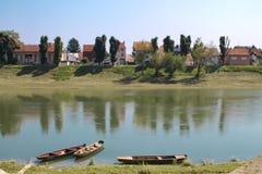 Sisak river Royalty Free Stock Image