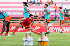 SISAKET ΤΑΪΛΑΝΔΗ 29 ΟΚΤΩΒΡΊΟΥ: Sarayuth Chaikamdee Sisaket FC Στοκ Φωτογραφία