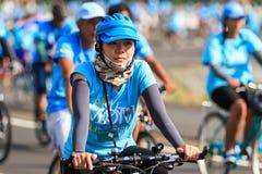 SISAKET, ТАИЛАНД 16-ОЕ АВГУСТА - 2015: Это событие Стоковая Фотография RF