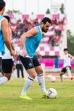 SISAKET ТАИЛАНД 15-ое октября: Andres Tunez Utd Buriram Стоковые Изображения RF