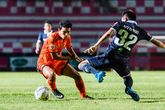SISAKET ТАИЛАНД 21-ое сентября: Lar-tham Tadpong Sisaket FC Стоковые Изображения RF