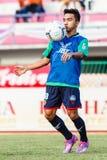 SISAKET ТАИЛАНД 3-ЬЕ АВГУСТА: Chanathip Songkrasin BEC Tero Sasana FC Стоковая Фотография