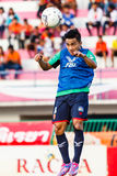 SISAKET ТАИЛАНД 3-ЬЕ АВГУСТА: Chanathip Songkrasin BEC Tero Sasana FC Стоковое Изображение