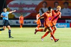 SISAKET ТАИЛАНД 3-ЬЕ АВГУСТА: Sarayuth Chaikamdee Sisaket FC Стоковые Изображения RF