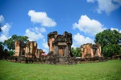 Sisaket de Wat Sa Kamphaeng Yai Foto de archivo