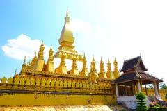 Sisaket de Wat Thap Luang ou de wat Image libre de droits