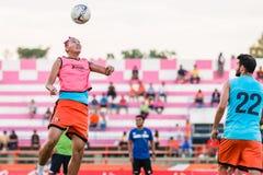 SISAKET TAILÂNDIA 29 DE OUTUBRO: Watsapol Thosantia de Sisaket FC Fotos de Stock Royalty Free