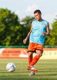 SISAKET TAILANDIA 6 DE JULIO: Santirat Viang-en de Sisaket FC Fotos de archivo