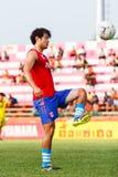 SISAKET TAILANDIA 21 DE JUNIO: Lee Sang-Ho de Singhtarua FC Fotografía de archivo