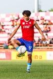 SISAKET TAILANDIA 21 DE JUNIO: Lee Sang-Ho de Singhtarua FC Imagen de archivo libre de regalías