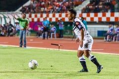 SISAKET TAILANDIA 28 DE MAYO: Pipob En-MES de Chonburi FC r Fotografía de archivo libre de regalías