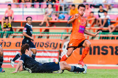 SISAKET TAILANDIA 21 settembre: Santirat Viang-di Sisaket FC Immagini Stock