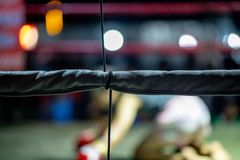 Thai Boxers Festival in thailand stock image