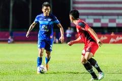 SISAKET THAILAND 12. AUGUST: Chonlatit Jantakam von Chonburi FC (b Stockfotos