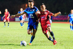 SISAKET THAILAND 12. AUGUST: Chonlatit Jantakam von Chonburi FC (b Stockbilder