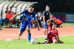 SISAKET THAILAND 12. AUGUST: Chonlatit Jantakam von Chonburi FC (b Lizenzfreie Stockfotos