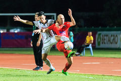 SISAKET THAILAND-AUGUST 19: Mohsen Bayatinia of Sisaket FC. (ora Stock Photography