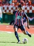 SISAKET THAILAND-AUGUST 3: Rangsan Viwatchaichok of BEC Tero Sasana FC. Stock Photography
