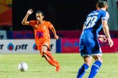 SISAKET THAILAND-AUGUST 13: Somsak Wongyai of Sisaket FC. Stock Photo