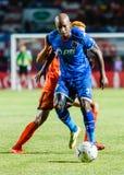 SISAKET THAILAND-AUGUST 13: Yves Desmarets of PTT Rayong FC. Stock Photos