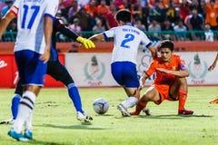 SISAKET THAILAND 23. JULI: Sarayuth Chaikamdee von Sisaket FC Stockfotos