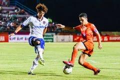 SISAKET THAILAND 23. JULI: Sarayuth Chaikamdee von Sisaket FC Stockbilder