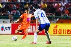 SISAKET THAILAND 23. JULI: Siwapong Jareansin von Sisaket FC Stockbilder