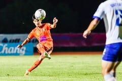 SISAKET THAILAND 23. JULI: Siwapong Jareansin von Sisaket FC Stockfotos