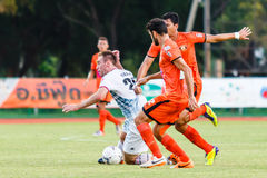 SISAKET THAILAND-JULY 6: Nikola Nikezic of Chainat Hornbill FC. Stock Photo