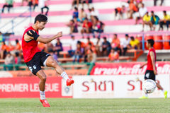 SISAKET THAILAND-JULY 6: Park Jung-Soo of Chainat Hornbill FC. Stock Photos