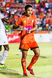 SISAKET THAILAND-JULY 6: Sarayuth Chaikamdee of Sisaket FC. Stock Photos