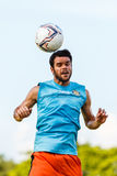 SISAKET THAILAND-JULY 6: Victor Amaro of Sisaket FC. Stock Photos