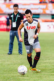 SISAKET THAILAND-JUNE 29: Anthony Ampaipitakwong of Bangkok Utd. Royalty Free Stock Images