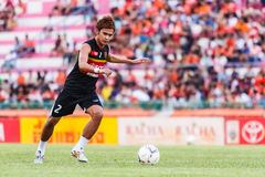 SISAKET THAILAND-JUNE 8: Artit Daosawang of Muangthong Utd. Stock Photo
