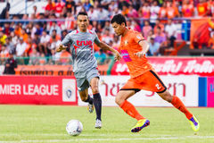 SISAKET THAILAND-JUNE 29: Chatchai Mokkasem of Sisaket FC. Stock Photo