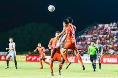 SISAKET THAILAND-JUNE 29: Chatchai Mokkasem of Sisaket FC. Stock Photos