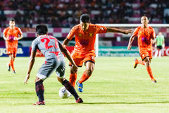 SISAKET THAILAND-JUNE 29: Eakkapan Nuikhao of Sisaket FC. Stock Photography