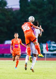 SISAKET THAILAND-JUNE 8: Ekkapan Jandakorn of Sisaket FC. Stock Photos