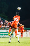 SISAKET THAILAND-JUNE 8: Ekkapan Jandakorn of Sisaket FC. Royalty Free Stock Photography