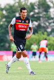SISAKET THAILAND-JUNE 8: Jay Bothroyd of Muangthong Utd. Stock Images