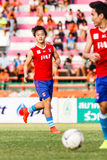 SISAKET THAILAND-JUNE 21: Joo Sung-Hwan of Singhtarua FC. Royalty Free Stock Images
