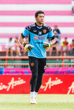 SISAKET THAILAND-JUNE 8: Kawin Thamsatchanan of Muangthong Utd. Stock Photo