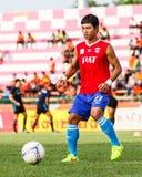 SISAKET THAILAND-JUNE 21: Kiatjarern Ruangparn of Singhtarua FC. Stock Photo